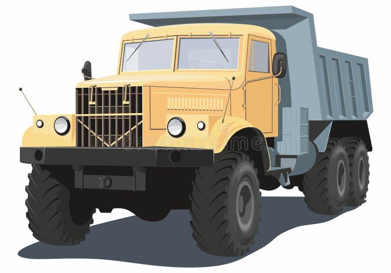 dump truck illustration libre de droits