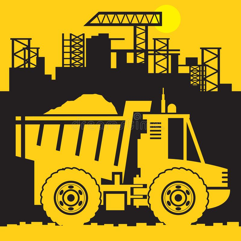 Free Dump Truck, Construction Power Machinery Royalty Free Stock Images - 133199739