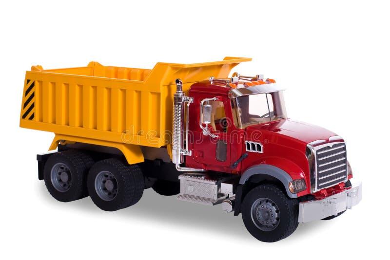 Dump truck toy stock image