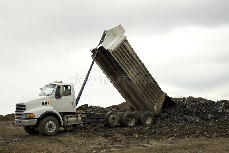 Download Dump Truck Unloading Stock Photography - Image: 4586892