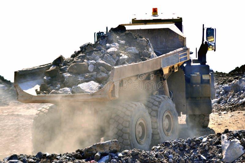 Dumper för tung konstruktion arkivbild
