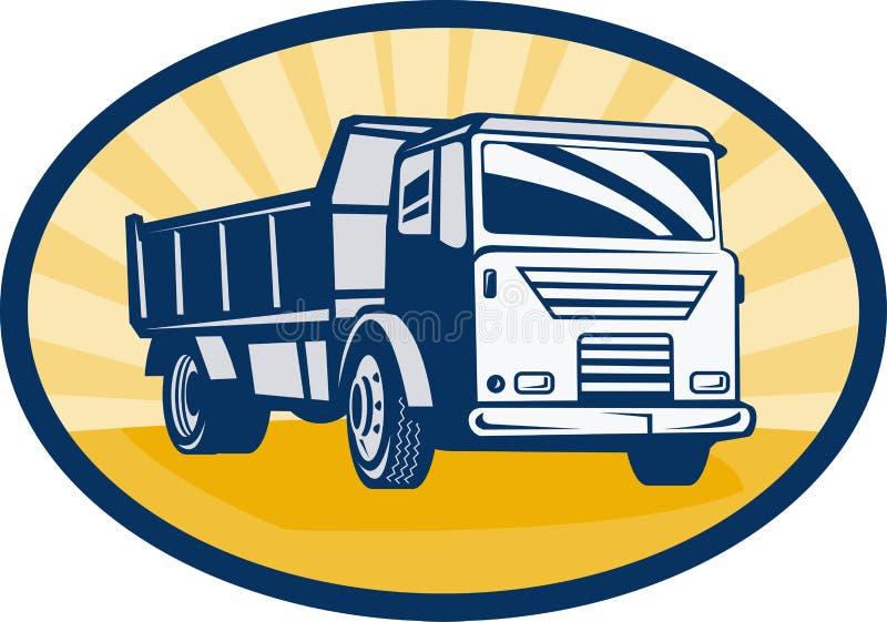 Dumper ou camion à benne basculante illustration stock