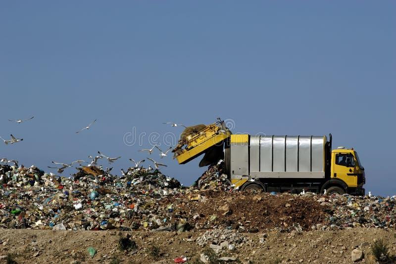 Dumping dei rifiuti fotografia stock libera da diritti