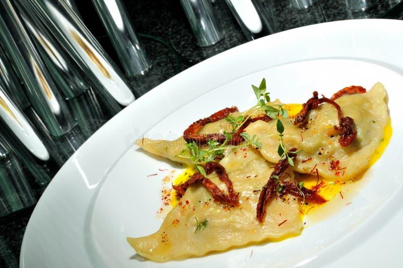 Download Dumplings With Mushrooms Royalty Free Stock Photo - Image: 15550735