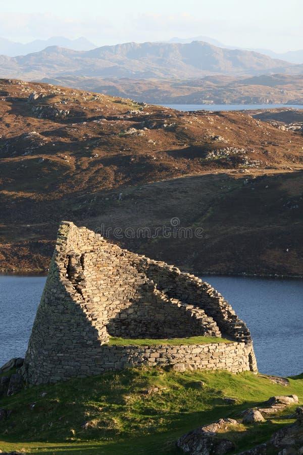Dun Carloway royalty free stock image