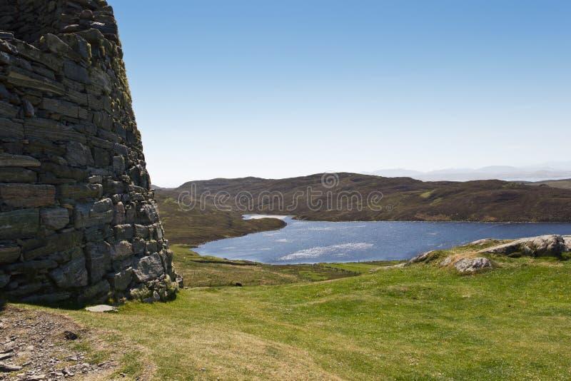 Dun Carloway Broch στοκ εικόνα