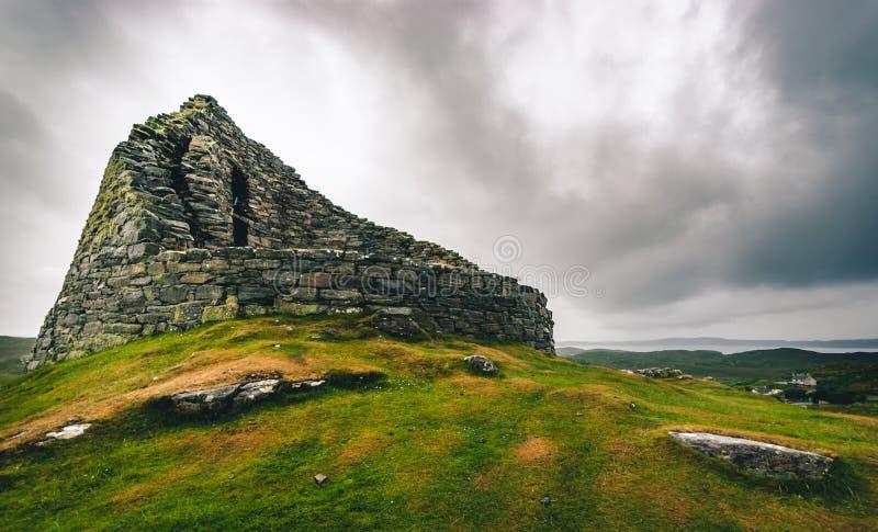 Dun Carloway Broch imagem de stock royalty free