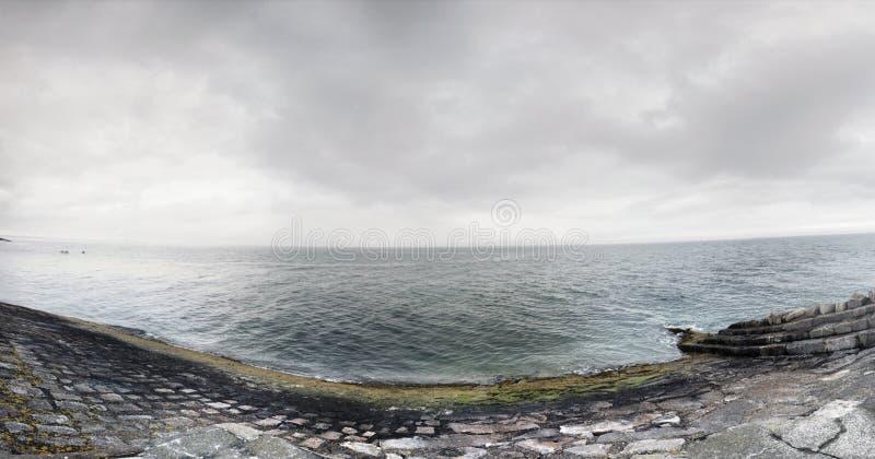 Dun Laoghaire Dublín del mar fotografía de archivo libre de regalías