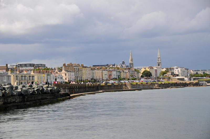 Dun Laoghaire Dublin royalty free stock images