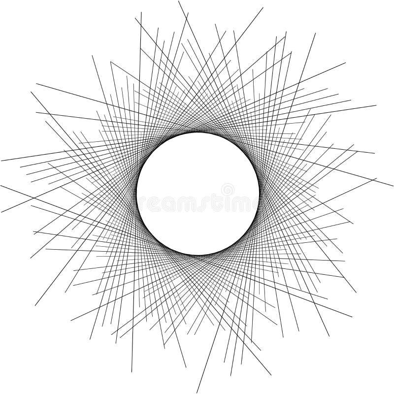 Duna abstracta effect07 del eclipse del fondo ilustración del vector
