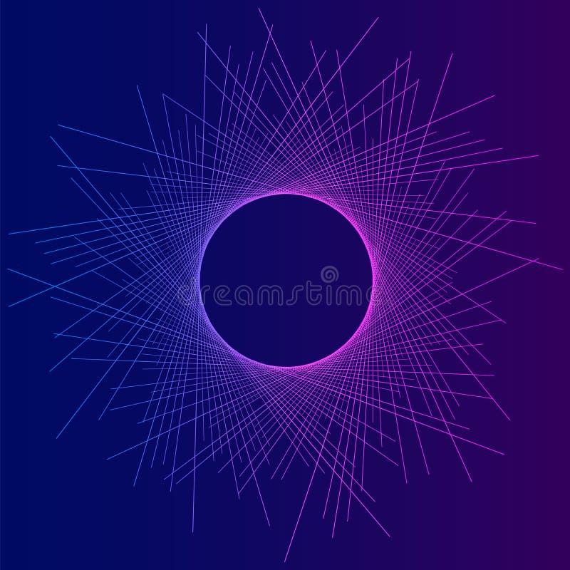 Duna astratta effect05 di eclissi del fondo illustrazione vettoriale