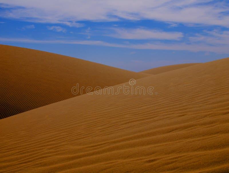 Duna de arena HDR fotografía de archivo