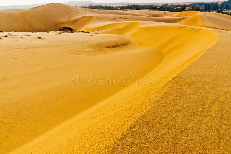 Duna de arena. Mui Ne. Vietnam fotografía de archivo