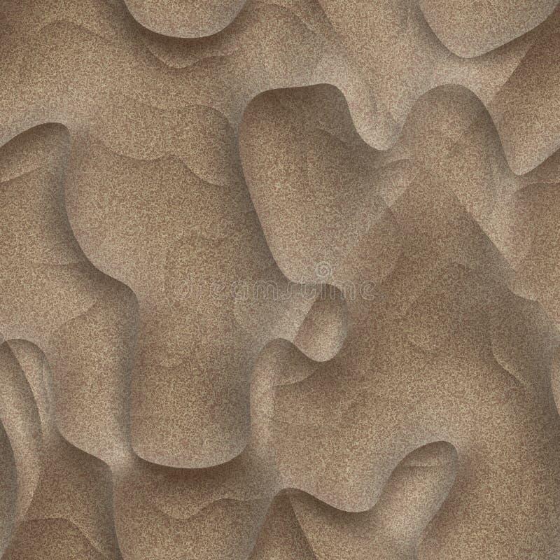 Duna di sabbia illustrazione vettoriale