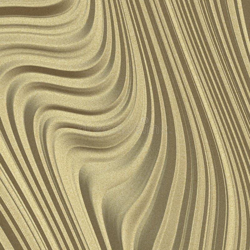 Duna di sabbia illustrazione di stock