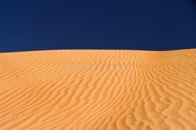 Duna do deserto, areias de Wahiba, Oman fotos de stock