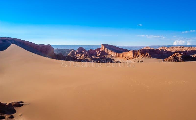 Duna em Atacama imagens de stock