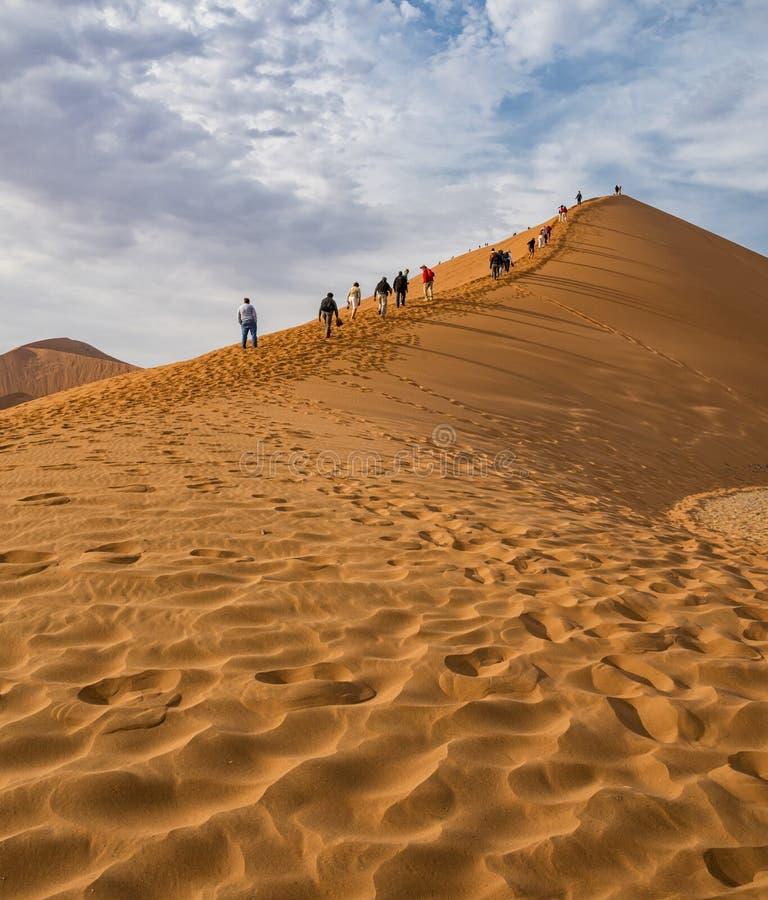 Duna 45 Namíbia fotografia de stock