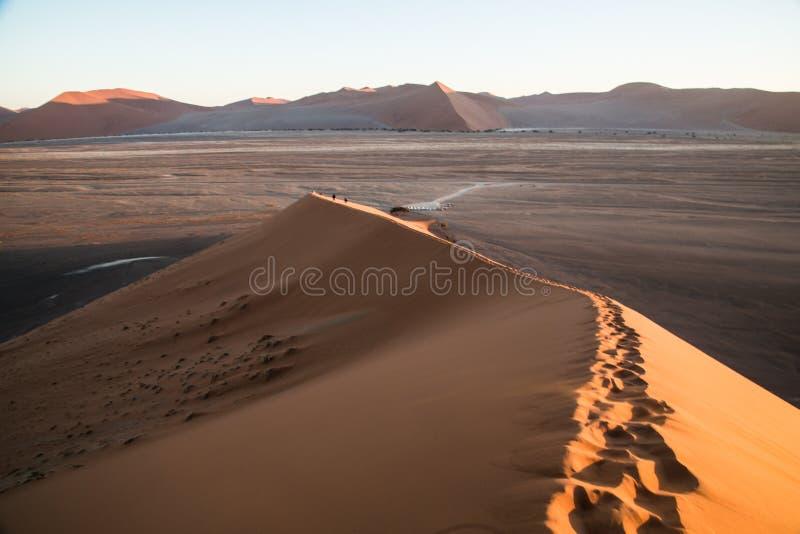 Duna 45 Namíbia de Sossusvlei imagem de stock