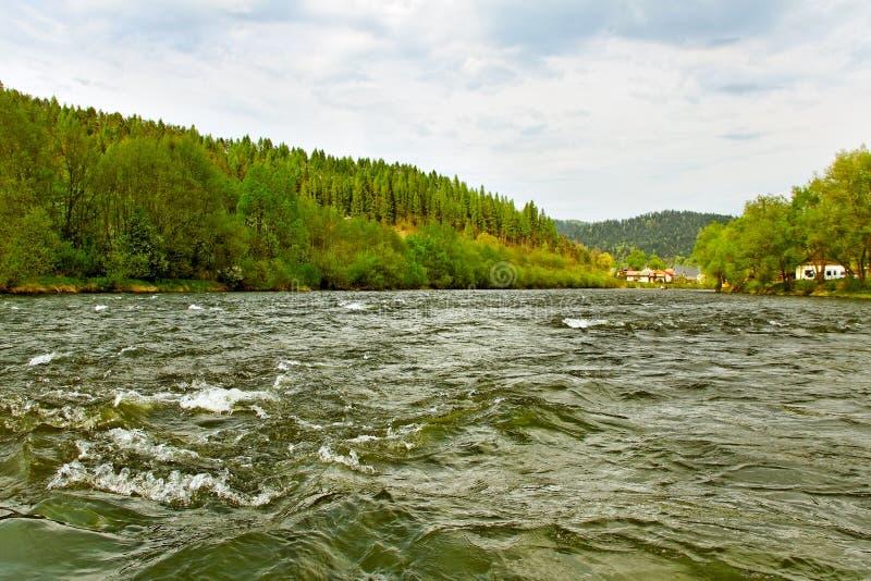 Dunaec river. royalty free stock photo
