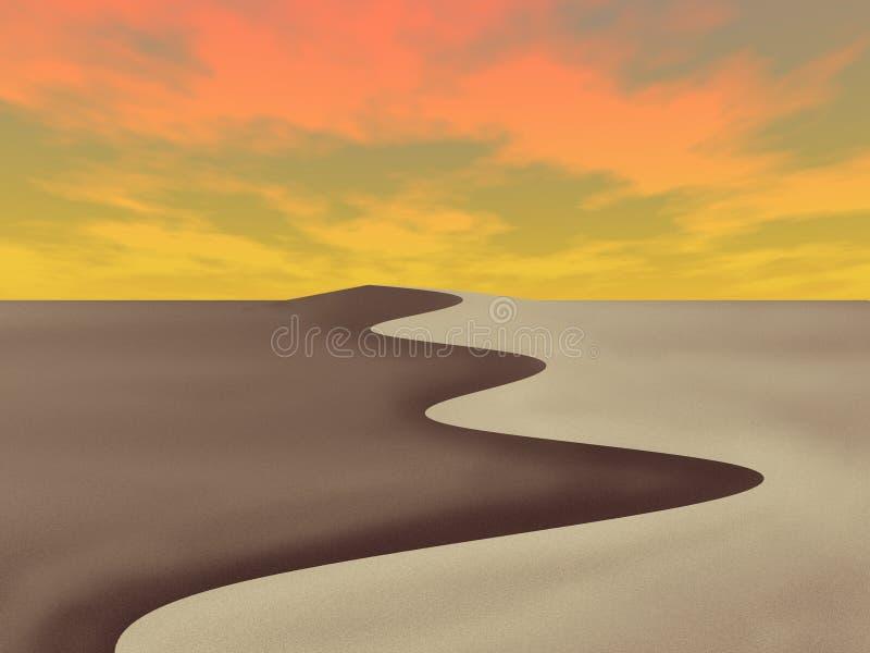 dunaire illustration libre de droits