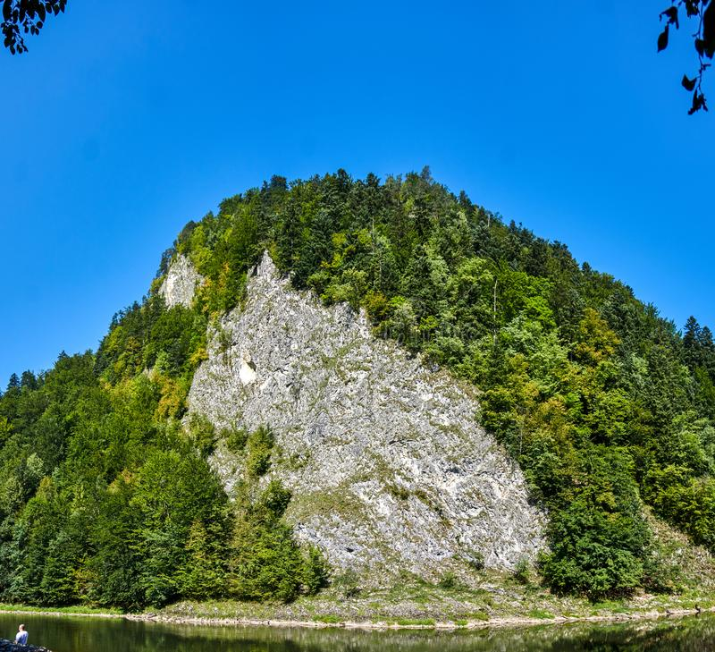 Dunajec river royalty free stock images