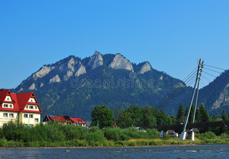 Dunajec river royalty free stock image