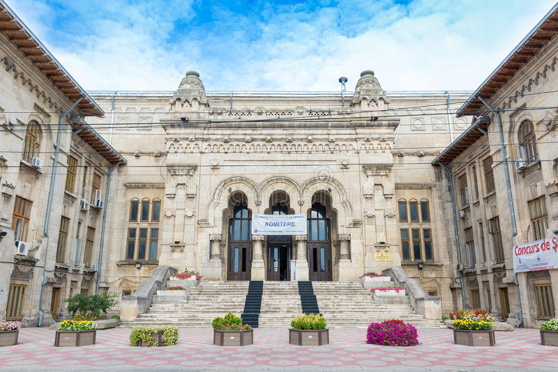 Dunarea de Jos πανεπιστήμιο Galati στοκ εικόνες