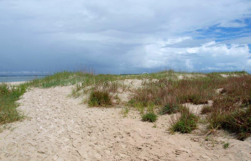 Dunas atlánticas de la playa imagenes de archivo