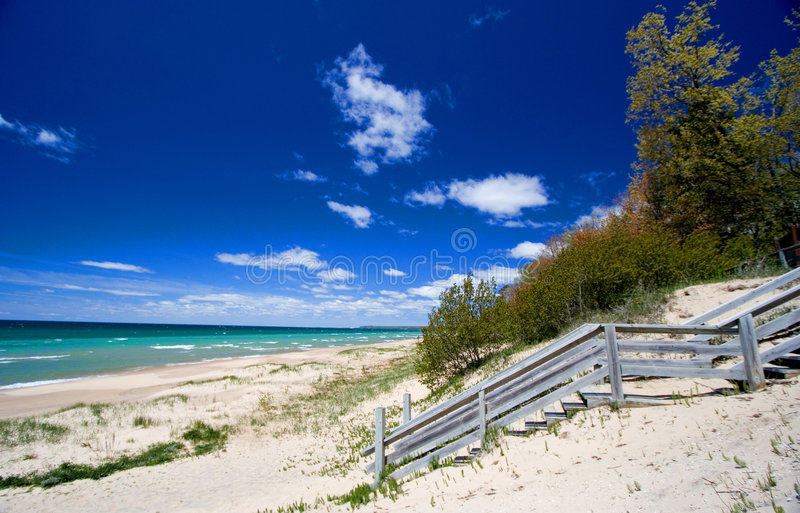 Dunas da praia foto de stock royalty free