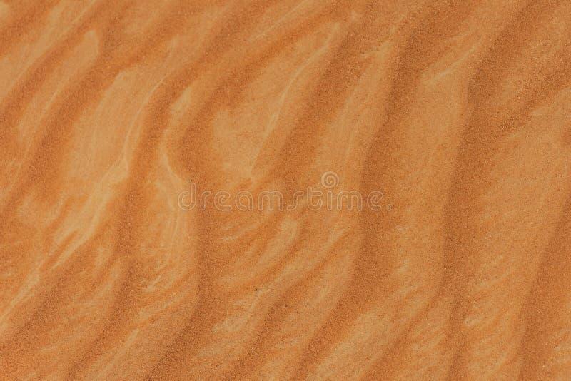 Dunas de areia Rippling no RAK fotos de stock royalty free