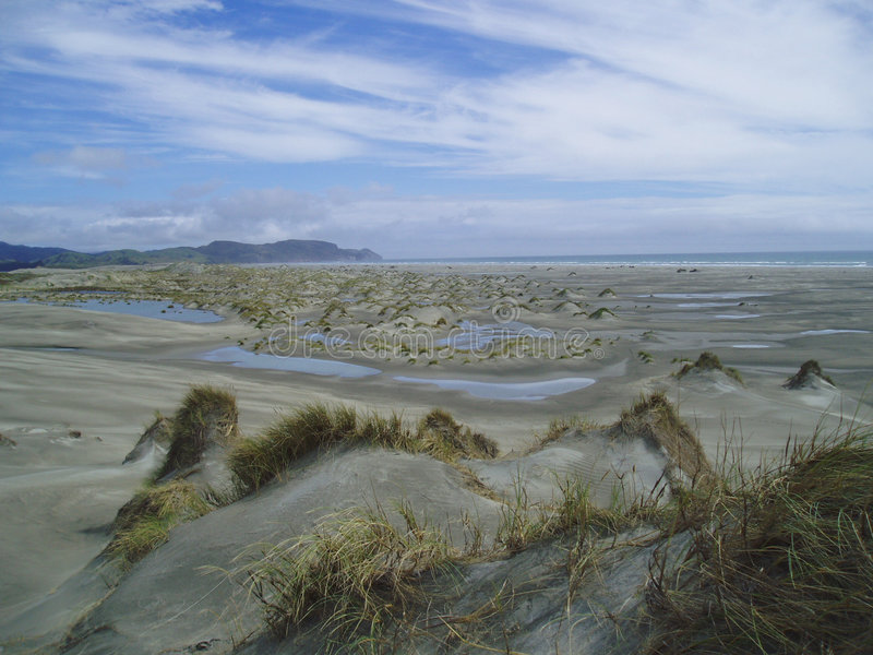 Dunas de arena fotos de archivo