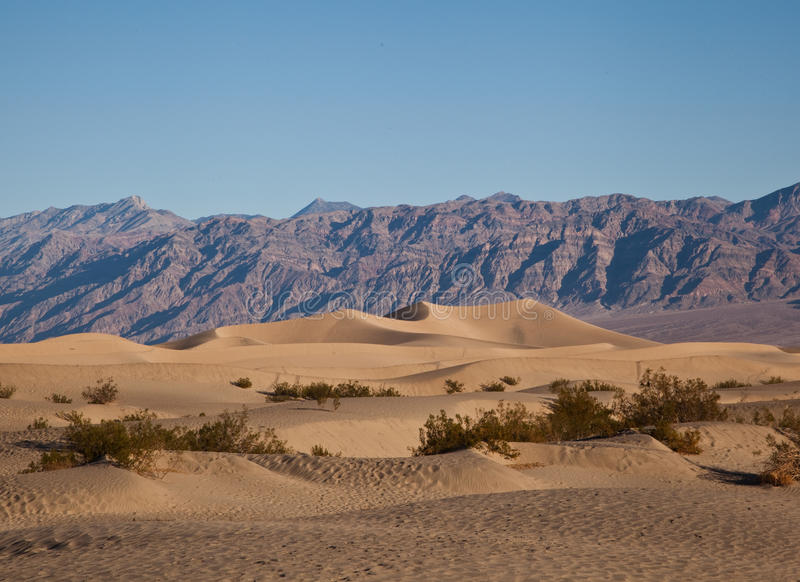 Dunas de arena de Death Valley fotos de archivo