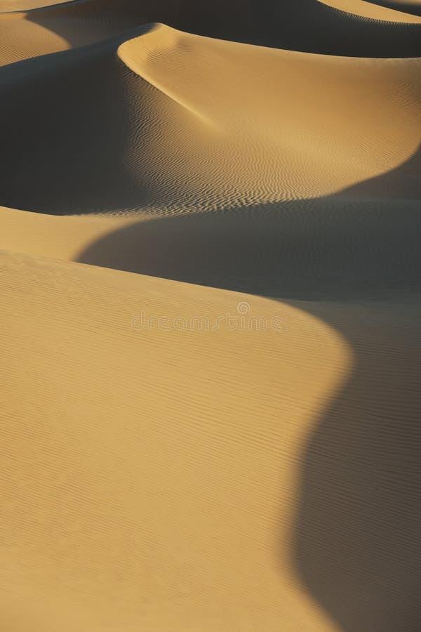 Dunas de arena del desierto de Sáhara. foto de archivo libre de regalías