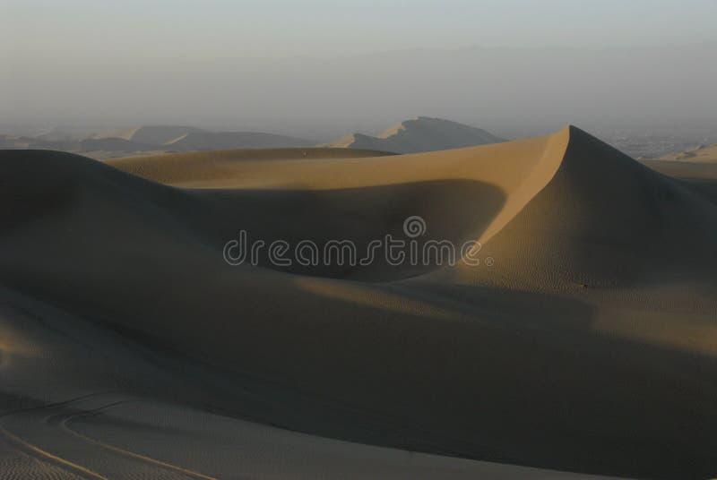 Dunas de arena, Huacachina fotos de archivo
