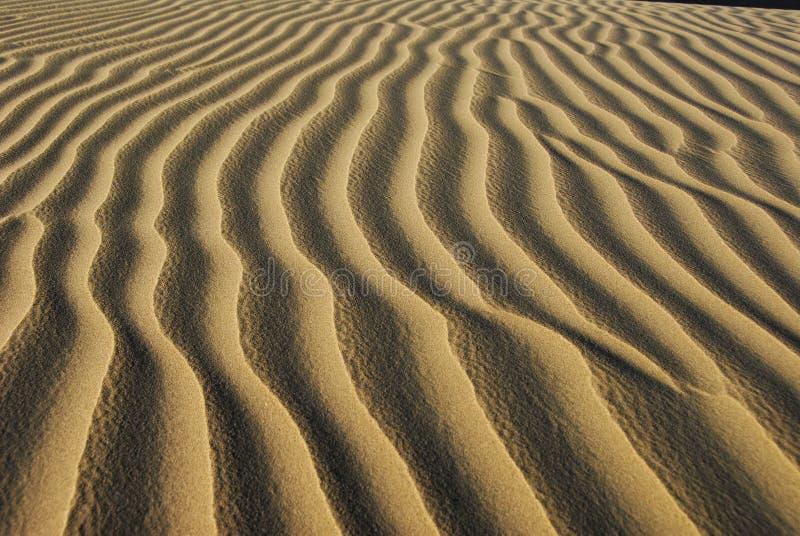 Dunas de arena, Huacachina imagen de archivo libre de regalías