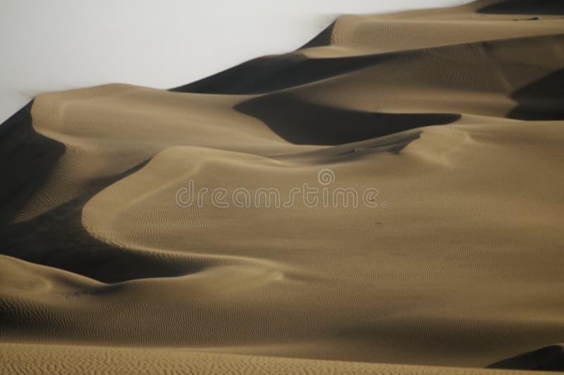 Dunas de arena de Huacachina Peru Landscape Viajes fotos de archivo