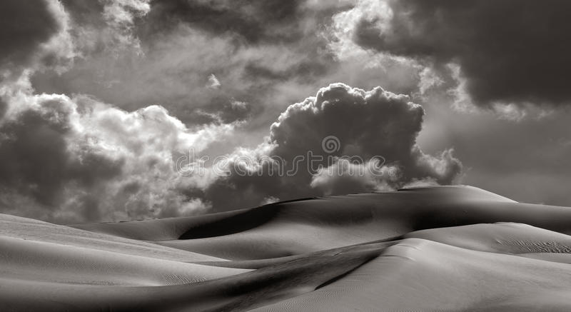 Dunas de arena imperiales imágenes de archivo libres de regalías