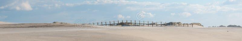 Dunas de arena de la playa fotografía de archivo
