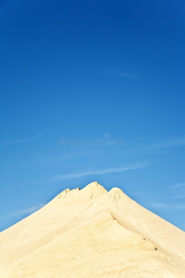 Dunas de la arena fina foto de archivo