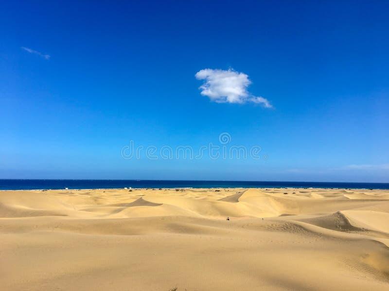 Dunas de Maspalomas - Gran Canaria - Espanha fotos de stock