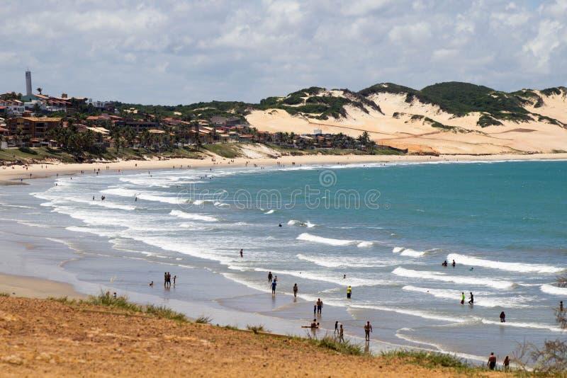Dunas em Brasil imagem de stock
