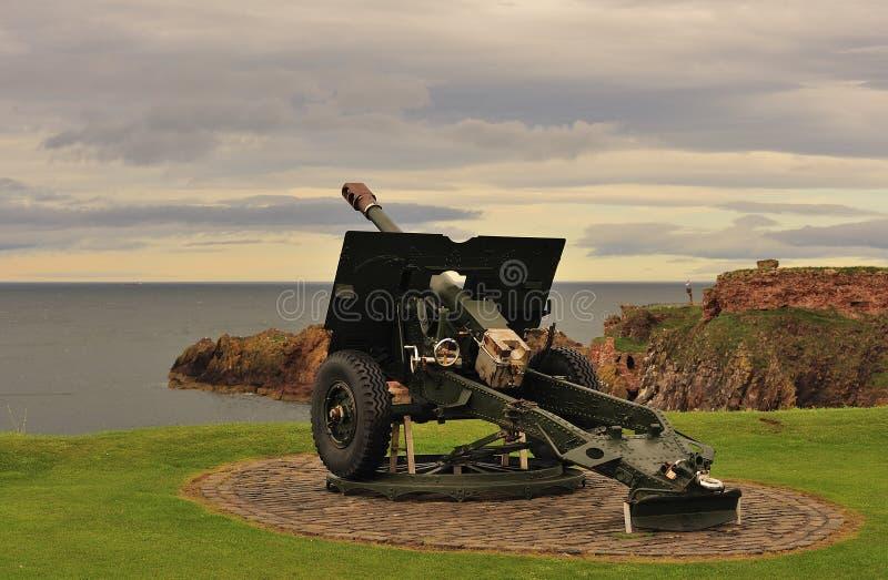 dunbar howitzer πυροβόλων όπλων πεδίων στοκ φωτογραφίες