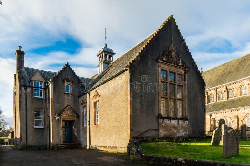 Dunblane kościół katedralny dom obraz royalty free