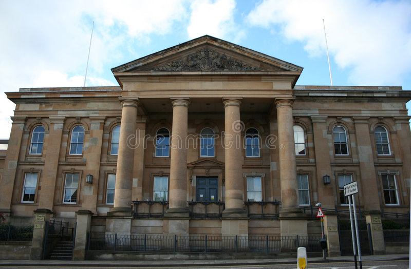 Download Dundee Sheriff Court stock photo. Image of sheriff, historic - 1762004