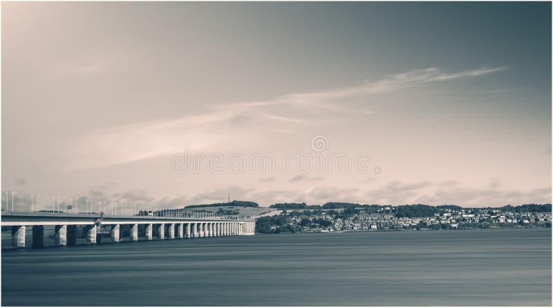 Dundee una città della Scozia fotografia stock libera da diritti