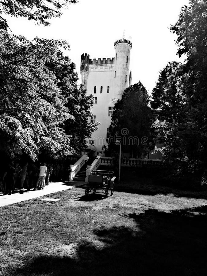 Dundjerski城堡 免版税图库摄影