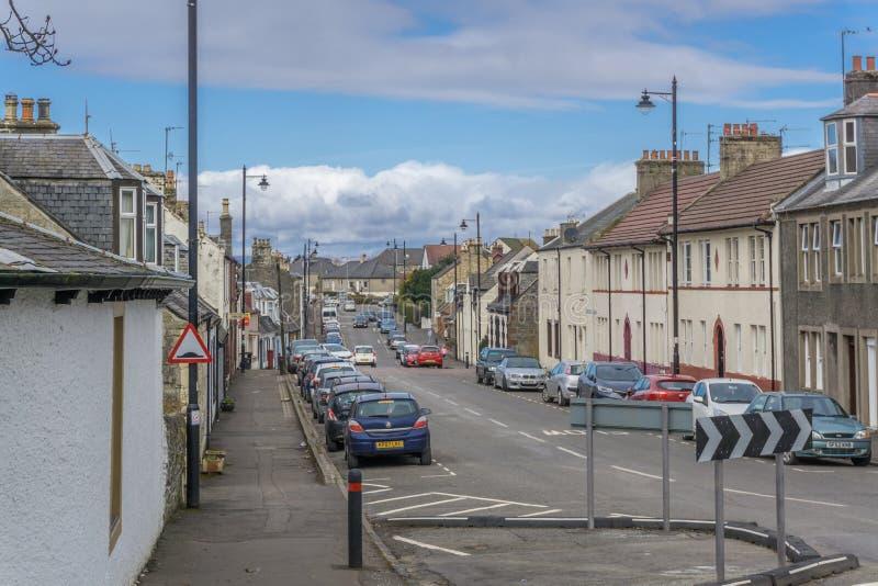 Dundonald miasteczko Szkocja fotografia royalty free