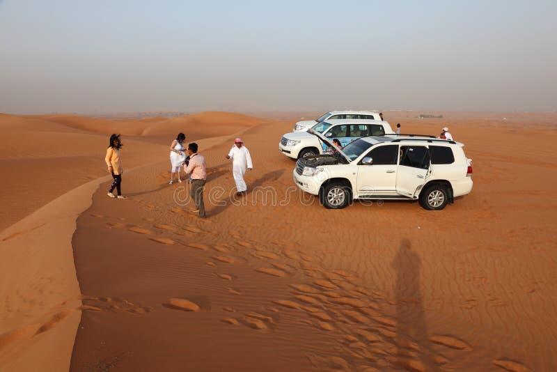 Dune bashing in Dubai. United Arab Emirates. Photo taken on 6th of June 2011 stock photos