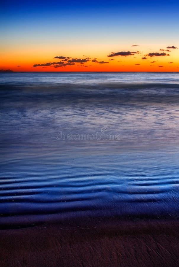 Dune Blu Immagini Stock